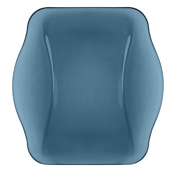 YBON010 352150 IT 352150 NETTUNO BLUE SQUARE PLATE 28 B12 (2)
