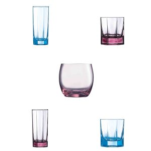 Luminarc Colored Tumblers